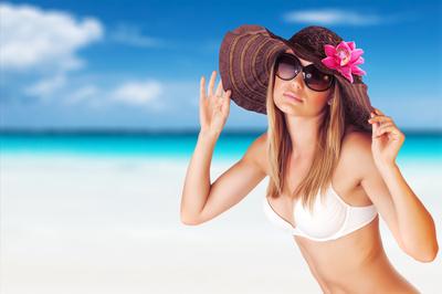 Mensch Sport und Bikinifigur-Coaching